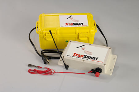 TrapSmart Basic Unit with Four Trap Sensors - GPS Animal Trap Monitoring THUMBNAIL