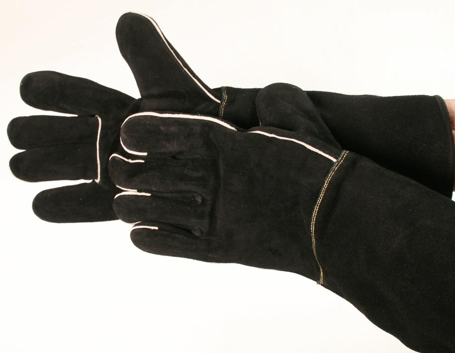 Talon Split Cowhide with Kevlar Lining Animal Handling Gloves
