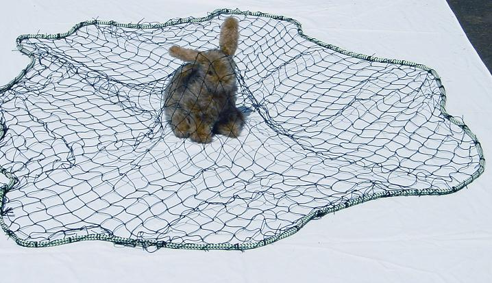 Throw Nets for Animal Capture & Control