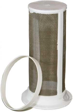 RainHarvest - Downspout Diverter Stainless Steel Filter for First Flush