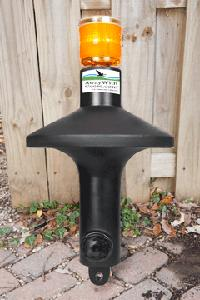 Away With Geese Solar Powered Guaranteed Canada Geese Control For Ponds, Lakes, Lawns, & Roofs