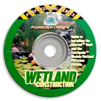 Wetland Construction - Water Garden & Pond DVD  -  By Aquascape
