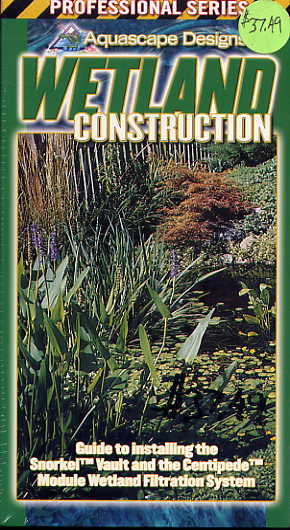 Clearance - Wetland Construction - Water Garden & Pond VHS - By Aquascape