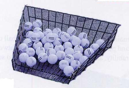 Wire Golf Ball Tray (Holds 85 Golf Balls)