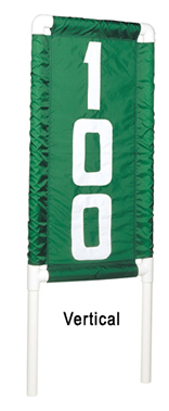 Nylon Range Banners by Standard Golf - Vertical