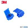 3M Run-Tap Moisture Resistant Solderless Connectors - Pair (2) of Blue Connectors with Silicone Gel Mini-Thumbnail