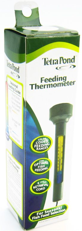 Tetra Pond Floating Feeding Thermometer for Water Gardens & Ponds