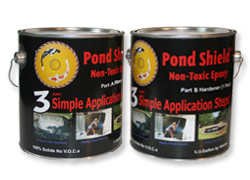 Pond Armor Non-Toxic Epoxy Liner for Pond, Pools, & Water Gardens