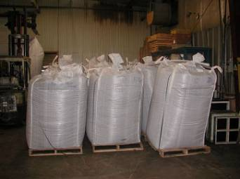 2000 lb Super Sacks of Rubber Crumb Synthetic Turf Infill Material For Turf, Fringe, & Sport Fields