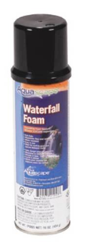 Aquascape Black Waterfall Foam & Accessories for Water Garden, Stream, & Pond Use