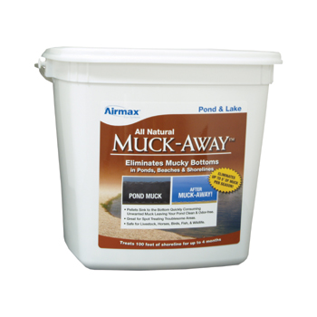 MuckAway Pellets - Great for Lake Front Property Owners, Shorelines & Beaches LARGE