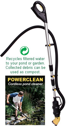 Laguna PowerClean Cordless Pond Cleaner