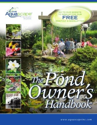 Aquascape's Pond Owners Manual For Water Garden & Pond Lovers THUMBNAIL