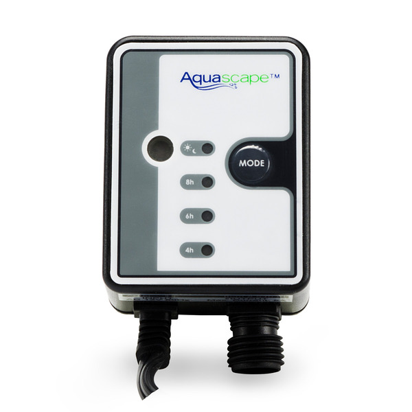 12 Volt AC Photocell Sensor with Digital Timer &Quick-Connectors by Aquascape LARGE