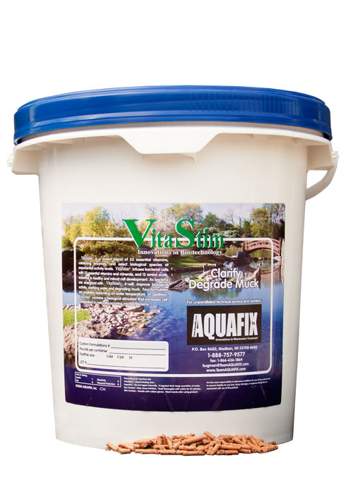 VitaStim MD Pellets for Organic Lake & Pond Sludge / Muck Control_LARGE