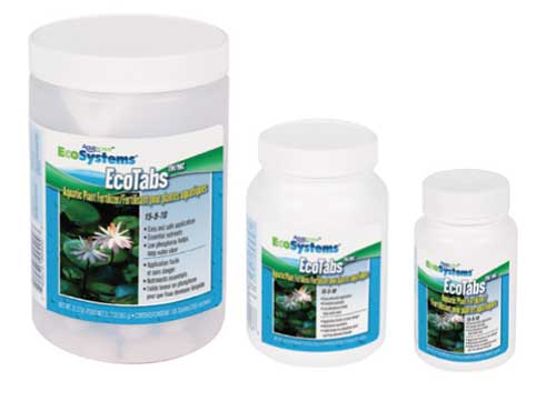 Aquascape EcoTabs - Aquatic Slow-Release Plant Fertilizer 15-5-10 for Water Garden & Pond Plants