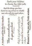 Lifelines Scripture Stickers - EDUCATION