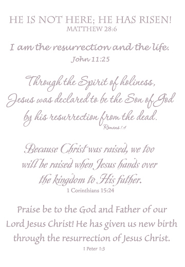 Lifelines Scripture Stickers - EASTER LARGE