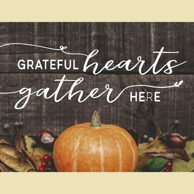 Light Box Insert - Grateful Hearts (Fall Harvest)