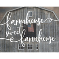 Light Box Insert - Farmhouse Sweet Farmhouse THUMBNAIL