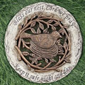 "12"" Bird Stepping Stone - Bless our Nest Lord We Pray..."