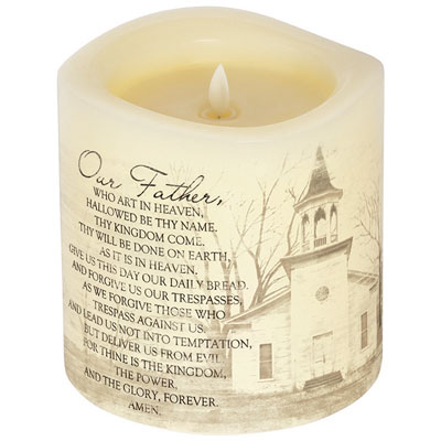 Everlasting Glow With Premier Flicker - The Lord's Prayer
