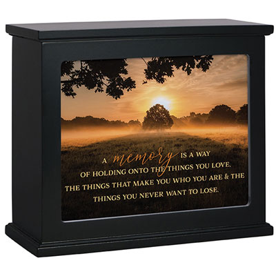 Black Light Box with Memory Insert LARGE
