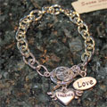 Love Charm Toggle Bracelet THUMBNAIL