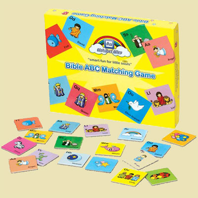 Bible ABC Matching Game LARGE