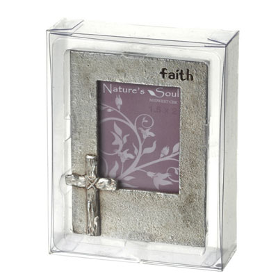 Faith Small  Cross Frame