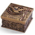 Confirmation Keepsake Box - Bronzed