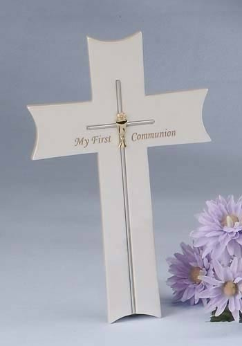 1st Communion Wall Cross LARGE