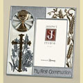 First Communion Frame - Silver/Gold Collection THUMBNAIL