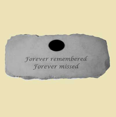 Forever remembered Garden Bench