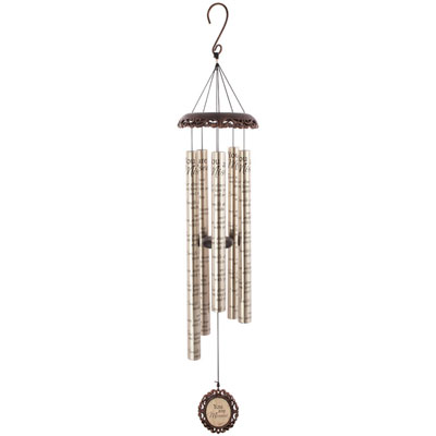 "40"" You Are Missed Vintage Wind Chime"