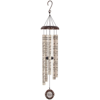 "40"" Signature Series Vintage Wind Chime - Memories Forever LARGE"