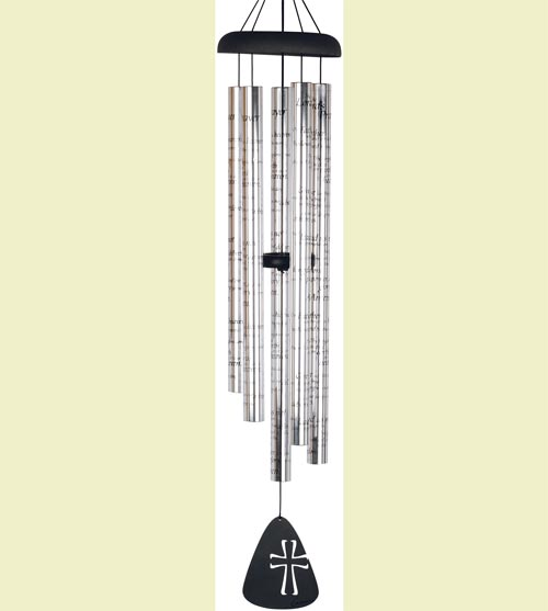 "44"" Lord's Prayer Sonnet Wind Chimes"