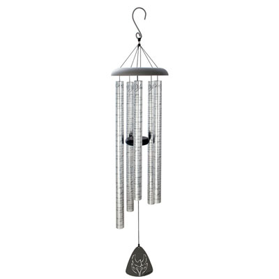 "44"" God has you in His keeping... Sonnet Wind Chime LARGE"