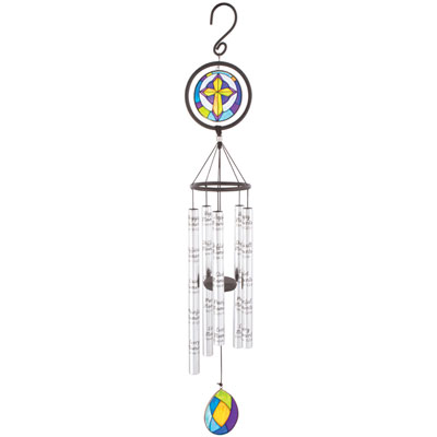 "35"" Moments… Stained Glass Sonnet Windchime"