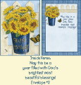 Psalms Birthday Card - Sunflowers THUMBNAIL