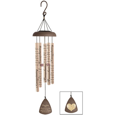 "30"" Solar Sonnet Wind Chime - Remembering LARGE"