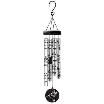 "21"" Signature Series Sonnet Wind Chime - Welcome"