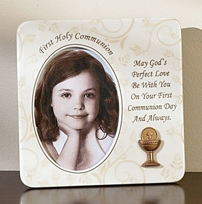 Vines and Branches First Communion Frame LARGE