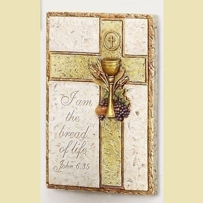 1st Communion Plaque w/Chalice