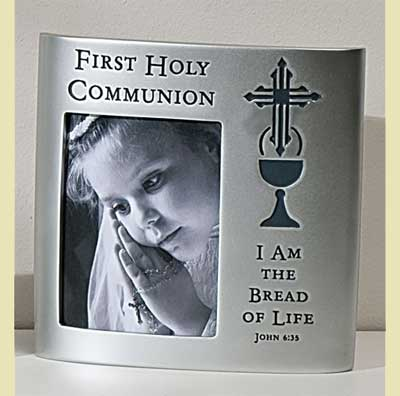 1st Holy Communion Photo Frame - John 6:35