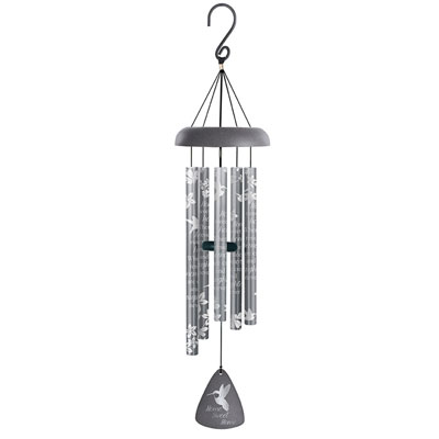 "30"" Silhouette Wind Chime - Home Sweet Home LARGE"