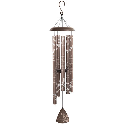 "44"" Silhouette Wind Chime - In Memory LARGE"
