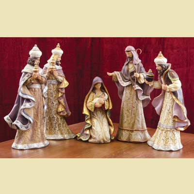 Spirit of Christmas - Five Piece Nativity Set