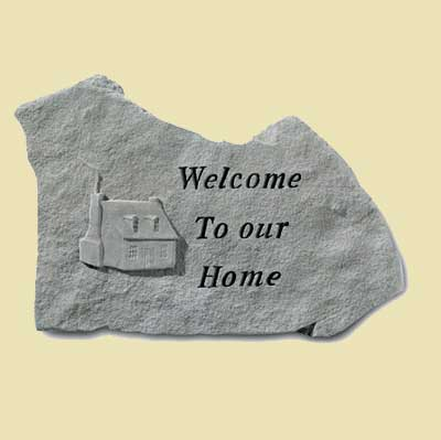 Welcome to our Home... Garden Stone