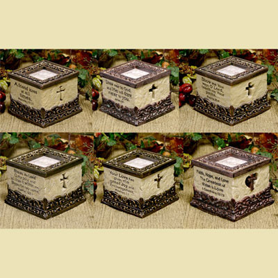 Verses of Inspiration Keepsake Box LARGE
